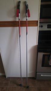 Salomon XC Ski Nordic poles for skate skiing