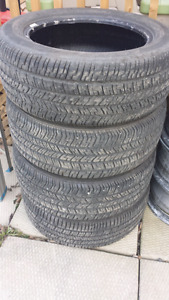 SET OF 4 LIKE NEW GOODYEAR EAGLE RS-A 205/55R16