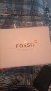 Fossil android watch.
