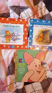 Winnie the pooh and Piglet too books