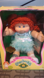 NIB limited edition cabbage patch doll