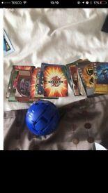 Bakugan plus cards