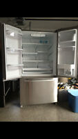 Whirlpool Gold Stainless Steel  Refridgerator and Range