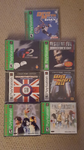 Playstation One PsOne Games