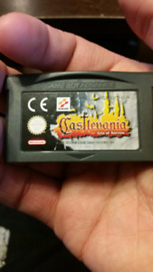 Castlevania Aria of Sorrow GBA Gameboy Advance SP DS