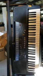 Older Casio piano keyboard