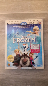 Disney Frozen Bluray and DVD