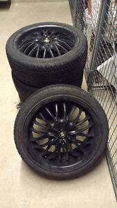 """OBO-Motegi 18"""" Rims (5 lug-4.5 inch or 114.3mm pattern) w/ Tires"""