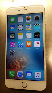 Unlocked iPhone 6+ 128gb Silver,  Excellent Condition