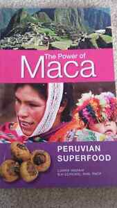Book on Maca, the superfood