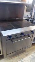 Cuisinière plaque à bouillir, cuisinière 6 feux, surface de cuis
