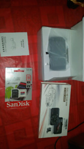Bnib Dash cam with front and rear camera and 32gb SD card