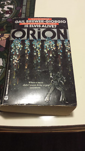 Orion: Is Elvis Alive, Gail Brewer-Giorgio Rare! paperback