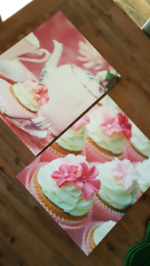 cupcake canvases  $10 for both Southern River Gosnells Area Preview