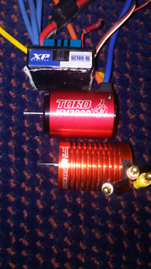 Motor and esc brushless