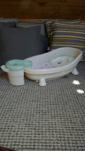 Spa Shower Baby bath with reclining seat