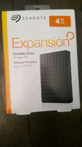 4 TB Seagate  Expansion (Brand New In Box)