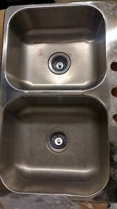 Generic Stainless Steel Sink with faucet