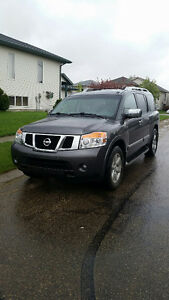 2012 Nissan Armada Platinum SUV, Leather, Low KMs
