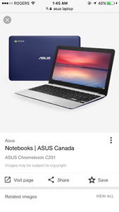 Asus chrome book won't turn on