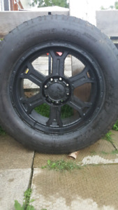 22x9.5 325/55/22 rims and tires