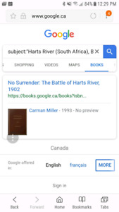 LOOKING FOR; No Surrender The Battle of Harts River 1902
