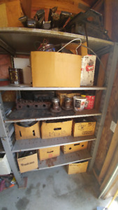 boxes of MGB parts