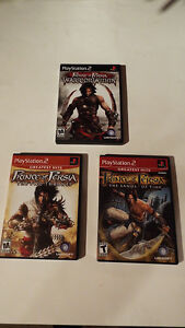 3 COMPLETE PRINCE OF PERSIA PS2 GAMES London Ontario image 1