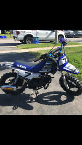 Yamaha PW 50 Completely Rebuilt And Upgraded 1800 0r B O