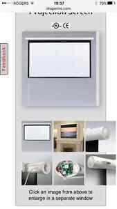 Solara draper screen with remote control