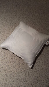 White accent Pillow