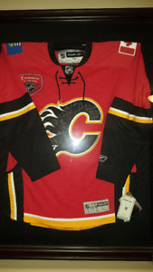 Autographed Calgary Flames Jersey