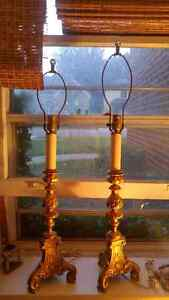 Antique Candlestick Lamps London Ontario image 1
