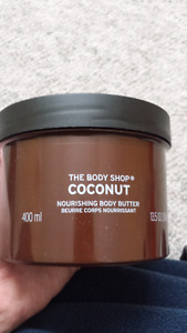 Brand New The Body Shop 400ML Coconut Body Butter.