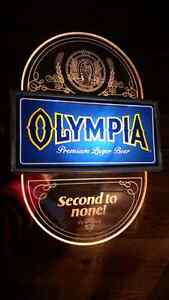 Vintage - Olympia Beer - Light-Up Sign