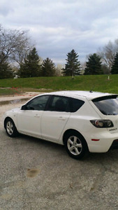 2008 Mazda 3 Sport,  great on gas & like new.