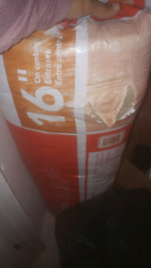 "Insulation Roxul wood studs 16"" 1 full bag"