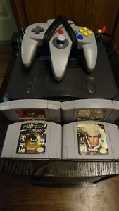 Selling N64 with a couple games