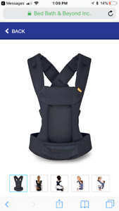 Beco Gemini Baby Carrier with Pocket in Black