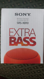 Sony  SRS-XB10 EXTRA BASS™ Portable BLUETOOTH® Speaker - New