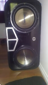 Subwoofers and box