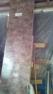 "COUNTER TOP 91/2 FEET LONG X 23 1/2"" WIDE X 11/16"" THICK,"