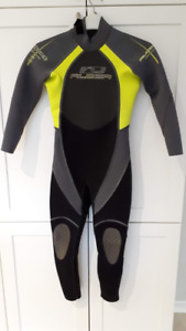 Alder Youth 3/2mm Back Zip Full Wetsuit