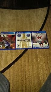3 PLAYSTATION 4 GAMES FOR SALE