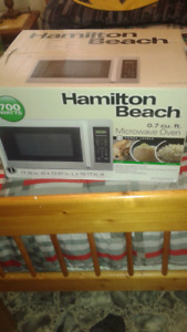 Microwave brand new still in the box