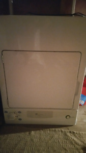 Stackable dryer good condition 110v