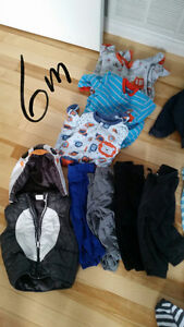 Baby boy clothes from 6 to 12 months