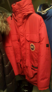Canada goose red parka size M