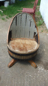 chaise baril