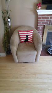 Fauteuil chaise italsofa khaki recliner divan Sofa